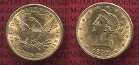 10 Dollars Gold,  Eagle Coronet Head 1897 USA USA 10 Dollars Liberty, F... 650,00 EUR kostenloser Versand