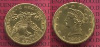 10 Dollars Gold Liberty  Eagle 1899 S USA USA 10 Dollars Liberty, Fraue... 617,28 EUR