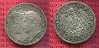3 Mark Silber Gedenkmünze 1910 Sachsen Weimar Eisenach Sachsen Weimar E... 85,00 EUR  zzgl. 4,20 EUR Versand