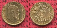 10 Mark Goldmünze 1906 Württemberg Württemberg 10 Mark König Wilhelm II... 299,00 EUR  zzgl. 4,20 EUR Versand
