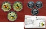 3 x 1000 Francs Farbmünzen Vögel Silber 2010 Togo Togo 3 x 1000 Francs ... 139,00 EUR  zzgl. 4,20 EUR Versand