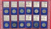 Die Ersten sechs 5 DM Gedenkmünzen 1952-1964 Bundesrepublik Deutschland... 985,00 EUR