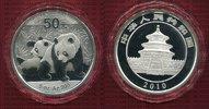 50 Yuan Silber 5 Unzen Panda 2010 China Vo...