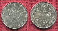 Weimarer Republik Deutsches Reich 5 Mark Silbermünze Weimarer Republik 5 Mark  Meißen  1929 E  Silber vz, winz. rdf.