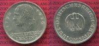 Weimarer Republik Deutsches Reich 5 Mark Weimarer Republik 5 Mark 200. Geburtstag von Lessing 1929 A  Silber, J. 336
