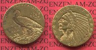 USA 5 Dollar Indianerkopf Half Eagle USA 5 Dollar Indianerkopf, 1910 D Indian Head