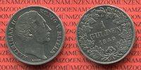 1 Gulden 1849 Bayern Maximilian II. Koenig von Bayern ss gereinigt  40,00 EUR  zzgl. 4,20 EUR Versand