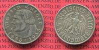 5 Reichsmark Silbermünze 1933 A III. Reich Third Reich 450. Geburtstag ... 110,00 EUR  zzgl. 4,20 EUR Versand