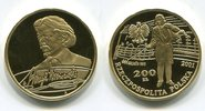 200 Zloty Goldmünze 2001 Polen Henri Wieni...