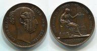 Medaille Bronze 1850 Belgien Tod von König...