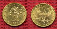 10 Dollars Gold,  Eagle Coronet Head 1897 ...