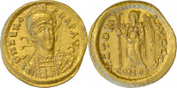 Ostgoten, Theoderich.Solidus 493-(497)-526 f.vz  1275,00 EUR  zzgl. 15,00 EUR Versand