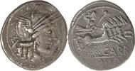 Denar 121 v.Chr. Rom,Cn.Papirius Carbo  sehr schön  65,00 EUR  zzgl. 5,00 EUR Versand