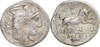 Denar 105 v.Chr. Rom,L.Thorius Balbus  ss/f.ss,leicht wellig  45,00 EUR  zzgl. 5,00 EUR Versand