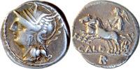 C.Coelius Caldus,Denar 104 v.Chr.,Rom. gutes,atraktives sehr schön  125,00 EUR  zzgl. 5,00 EUR Versand