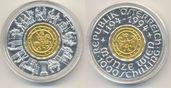 1000 Schilling Gold / Silber Münze Wien 1994 Österreich: 13 Gramm Gold, 27 Gramm Silber st