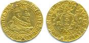 Dukat 1630 SB. DANZIG, Stadt Sigismund III, 1587-1632: Von großer Seltenheit. Leichte Fassungsspuren, ss