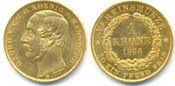1 Krone Gold 1866 Hannover Königreich: Georg V, 1851-1866: vz-st
