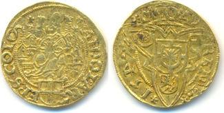Goldgulden 1547. KÖLN-Erzbistum Adolf III....