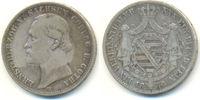 Vereinstaler 1870 B Sachsen Coburg Gotha: Ernst II, 1844-1893: ss  125,00 EUR  zzgl. 4,00 EUR Versand