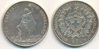 5 Franken Schützentaler 1872 Schweiz Zürich:  vz  150,00 EUR  plus 4,00 EUR verzending
