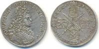 2/3 Taler 1693 I-K Sachsen: Johann Georg IV, 1691-1694: ss-vz, kl. Sf.  250,00 EUR  zzgl. 4,00 EUR Versand