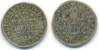 6 Mariengroschen 1693 Hildesheim Stadt:  ss  45,00 EUR  zzgl. 2,50 EUR Versand