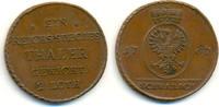 Passiergewicht für einen Reichs-Species- 1767, Schwabach BRANDENBURG AN... 1245,00 EUR  zzgl. 4,00 EUR Versand