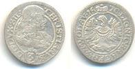 3 Kreuzer. Mzst. Brieg. 1670 C-B Schlesien Liegnitz Brieg: Christian, 1... 25,00 EUR  zzgl. 2,50 EUR Versand