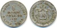 1/6 Taler Arolsen. 1837 Waldeck: Georg Heinrich, 1813-45: ss  45,00 EUR  zzgl. 2,50 EUR Versand