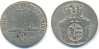 6 Kreuzer 1805 Württemberg: Friedrich II, 1797-1805: ss  45,00 EUR  zzgl. 2,50 EUR Versand