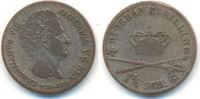 1 1/4 Schilling ( 4 Riksbankschilling ) 1842 Schleswig Holstein: Christ... 22,00 EUR  zzgl. 2,50 EUR Versand