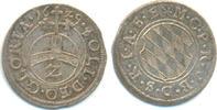 1/2 Batzen zu 2 Kreuzer 1629 Bayern: Maximilian I, 1623-51: Prägefrisch... 25,00 EUR  zzgl. 2,50 EUR Versand