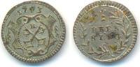 1 Pfennig 1793 Regensburg Stadt:  vz-st  20,00 EUR  zzgl. 1,00 EUR Versand