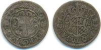 8 Heller 1724 FW Köln Bistum: Klemens August von Bayern, 1723.1761: ss  25,00 EUR  zzgl. 2,50 EUR Versand