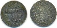 1/6 Taler Münzstätte  Neustrelitz 1752 HCB Mecklenburg Strelitz: Adolf ... 35,00 EUR  zzgl. 2,50 EUR Versand
