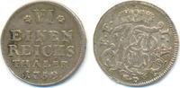 1/6 Taler Kriegsprägung 1758 ND Fulda Bistum: Adalbert II, 1756-1759: f... 125,00 EUR  zzgl. 4,00 EUR Versand