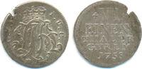 1/6 Taler Kriegsprägung 1758 Wied Runkel. Johann Friedrich Alexander, 1... 75,00 EUR  zzgl. 2,50 EUR Versand