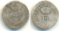 3 Kreuzer 1798 Württemberg: Friedrich II, 1797-1805: ss, selten !  50,00 EUR  zzgl. 2,50 EUR Versand