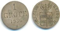 1 Grote 1836 B Oldenburg Grafschaft: Paul Friedrich August, 1829-1853: vz  25,00 EUR  zzgl. 2,50 EUR Versand