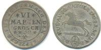 6 Mariengroschen 1697 HCH Braunschweig Wolfenbüttel: Rudolph August und... 25,00 EUR  zzgl. 2,50 EUR Versand