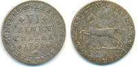 1/6 Taler 1798 Braunschweig Wolfenbüttel: Carl Wilhelm Ferdinand, 1780-... 25,00 EUR  zzgl. 2,50 EUR Versand
