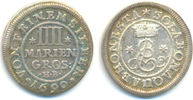 4 Mariengroschen 1690 Braunschweig Calenberg: Ernst August, 1679-98: ss... 30,00 EUR  zzgl. 2,50 EUR Versand
