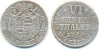 1/6 Taler 1764 Hildesheim Bistum: Friedrich Wilhelm, 1763-1789: ss  30,00 EUR  zzgl. 2,50 EUR Versand