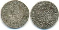6 Kreuzer 1675 Öttingen Grafschaft: Albert Ernst, 1659-1683: gutes ss  55,00 EUR  zzgl. 2,50 EUR Versand