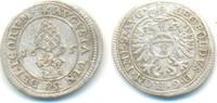 1 Kreuzer 1695 Augsburg Stadt:  ss-vz  25,00 EUR  zzgl. 2,50 EUR Versand