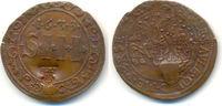 Kupfer 3 Schilling mit Gegenstempel GDVV 1633. Münster Domkapitel:  Pra... 210,00 EUR  zzgl. 4,00 EUR Versand