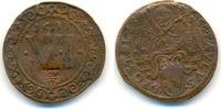 Kupfer 6 Pfennig mit Gegenstempel GDV üb 1633 Münster Domkapitel:  Fast... 165,00 EUR  zzgl. 4,00 EUR Versand