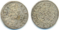 3 Kreuzer 1718 Bayern: Maximilian II. Emanuel, 1679-1726: vz  25,00 EUR  zzgl. 2,50 EUR Versand