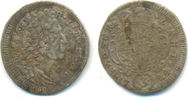 3 Kreuzer 1724 Bayern: Maximilian II. Emanuel, 1679-1726: ss  15,00 EUR  zzgl. 1,00 EUR Versand
